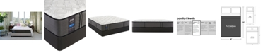 "Sealy Premium Posturepedic Satisfied 13"" Cushion Firm Mattress Set- Full"