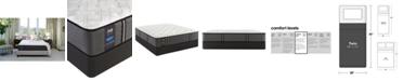 "Sealy Premium Posturepedic Satisfied 13"" Cushion Firm Mattress Set- Twin"