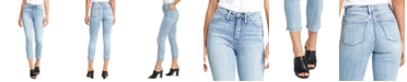 Silver Jeans Co. Calley Slim-Leg Cropped Jeans