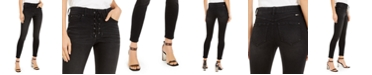 INC International Concepts INC Lace-Up Pull-On Skinny Jeans, Created for Macy's