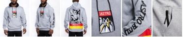 Southpole Men's Astroboy Premium Power Fleece Applique Patch Pullover Hoodie