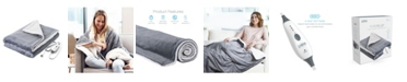 Pure Enrichment Purerelief Electric Throw Blanket