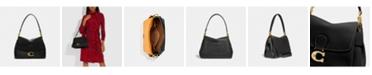 COACH Leather May Shoulder Bag