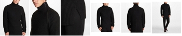 Karl Lagerfeld Paris Men's Chunk Zip Sweater