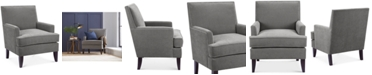 Sunday Theory Kendall Fabric Accent Chair Quick Ship