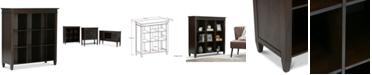 Simpli Home Thompson Nine Cube Bookcase