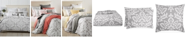 Charter Club Cotton Smoke Comforter Sets, Created for Macy's