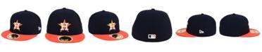 New Era Kids' Houston Astros Authentic Collection 59FIFTY Cap