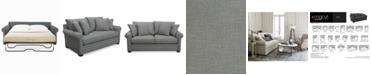 "Furniture Dial II 89"" Queen Sleeper Sofa with 4 Toss Pillows"