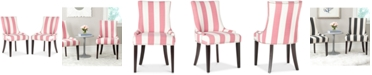 Safavieh Lester Awning Stripes Dining Chair (Set Of 2)