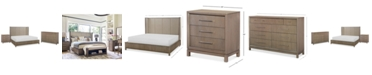 Furniture Rachael Ray Highline Bedroom Furniture, 3-Pc. Set (Upholstered Shelter King Bed, Dresser & Nightstand)