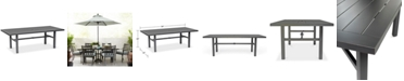 """Furniture Outdoor 84"""" x 42"""" Table (Highland & Montclaire), Created for Macy's"""