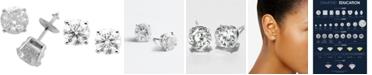 Macy's Diamond Stud Earrings in 14k White Gold (3 ct. t.w.)