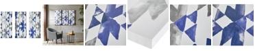 JLA Home INK+IVY Navy Sierra 3-Pc. Gel-Coated Canvas Print Set