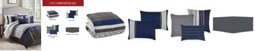 Hallmart Collectibles Wrener 7-Pc. Queen Comforter Set, Created for Macy's