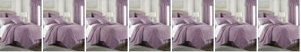 Colcha Linens Cambric Mauve Duvet Cover-Queen