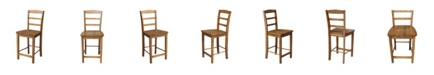 "International Concepts Madrid Counterheight Stool - 24"" Seat Height"