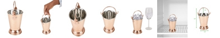 Mind Reader Insulated Stainless Steel Copper Ice Bucket, Brown