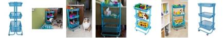 Clickhere2shop Home Storage Kitchen Utility Cart