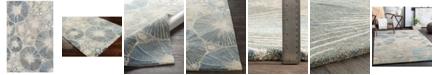 "Surya Mountain MOI-1020 Dark Blue 5' x 7'6"" Area Rug"