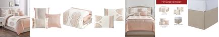 Hallmart Collectibles CLOSEOUT! Tanirika 7-Pc. King Comforter Set