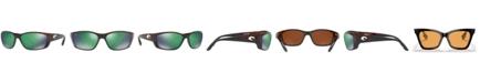 Costa Del Mar Polarized Sunglasses, FISCH 64P