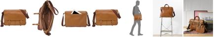 Fossil Men's Buckner Leather Messenger Bag