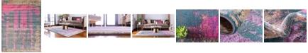 Bridgeport Home Aroa Aro5 Multi 9' x 12' Area Rug