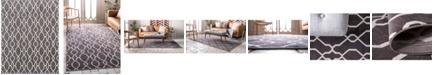Bridgeport Home Pashio Pas8 Dark Gray 8' x 10' Area Rug