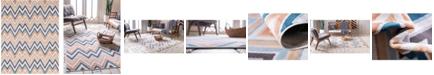 Bridgeport Home Pashio Pas8 Multi 8' x 10' Area Rug