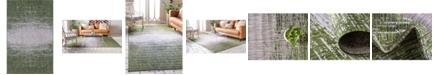 Bridgeport Home Pashio Pas7 Green 5' x 8' Area Rug