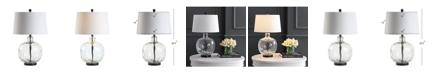 """JONATHAN Y Rae 26.5"""" Glass/Metal LED Table Lamp"""