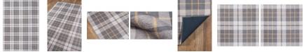 """Novogratz Collection Novogratz District Dis-9 Gray 5' x 7'6"""" Area Rug"""