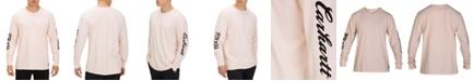 Hurley X Carhartt Men's Logo Long Sleeve T-Shirt