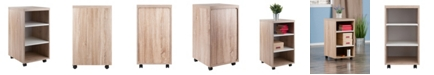 Winsome Kenner 3 Shelves Mobile Storage Cart