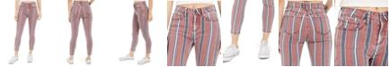 Indigo Rein Juniors' Striped Ankle Jeans