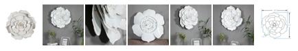 Luxen Home Flower Metal Wall Art