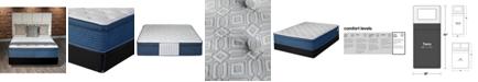 "iGravity Natural 13"" Ultra Plush Euro Top Mattress Set- Twin"