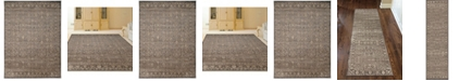 KM Home Cantu Brown Area Rug Collection