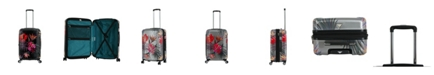 """Triforce Luggage Triforce Havana 26"""" Spinner Tropical Floral Luggage"""