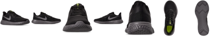 Nike Little Boys Revolution 5 HZ Stay-Put Closure Running Sneakers from Finish Line