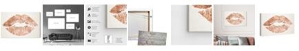 "Oliver Gal Solid Kiss Copper Canvas Art, 36"" x 24"""