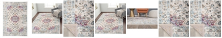 Main Street Rugs Home Lyon Lyn833 Pink Area Rug Collection