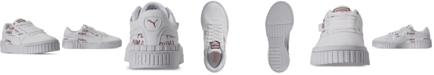 Puma Girls Cali Deboss Casual Sneakers from Finish Line