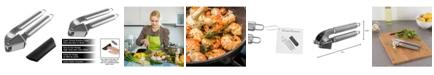 Classic Cuisine Garlic Mincer Presser And Peeler Set