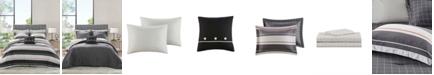 Madison Park Essentials Dalton Reversible 8-Piece Queen Bedding Set