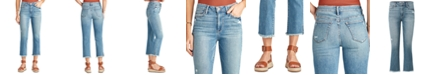 Sam Edelman Denim The Stiletto Cropped Bootcut Jeans