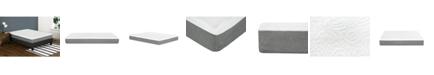"Primo International Primo Leila 10"" Gel Memory Foam Extra Firm Mattress - Twin"