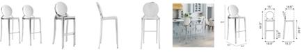 Zuo Eclipse Bar Chair, Set of 2