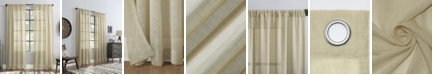 "Archaeo Slub Textured Curtain, 52"" x 84"""